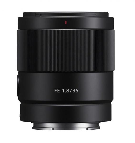 Sony Obiectiv Foto Mirrorless 35mm F1.8 Sony FE+Microfon 0