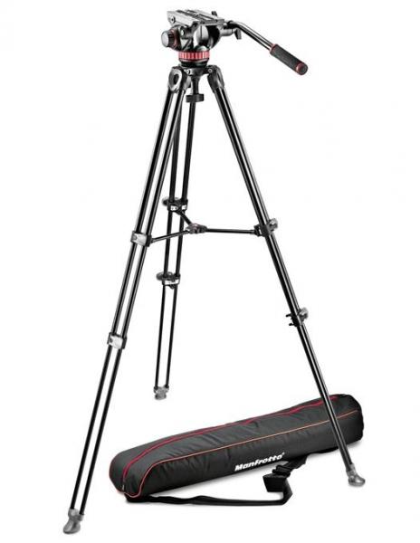 Pachet JVC GY-HM250E camera video 4K Live Streaming + Kit trepied video MVK502AM + Kata CB-100 geanta video