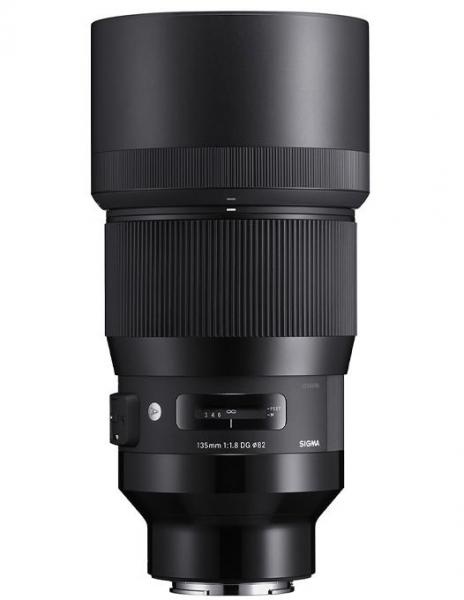 Pachet Sigma 135mm f/1.8 DG HSM Art Sony E + Manfrotto Minibee 120PL rucsac foto