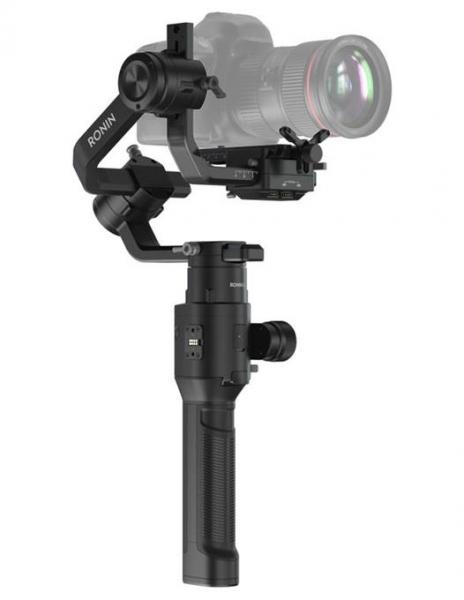 Pachet DJI Ronin S stabilizator gimbal + Boya BY-MM1 Microfon unidirectional+ Manfrotto Lumimuse 3