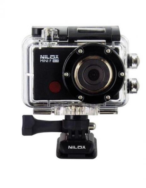 Pachet Manfrotto Minibee 120PL rucsac foto + Nilox Mini F Wi-Fi Full HD Camera actiune