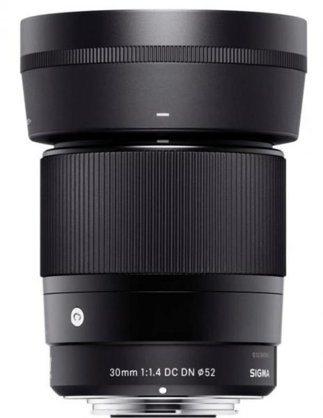 Pachet Sony A6500 Body Aparat Foto Mirrorless 24MP APSC Full HD Negru + Sigma 30mm f/1.4 DC DN Contemp Sony E + Manfrotto Amica 50BB geanta foto