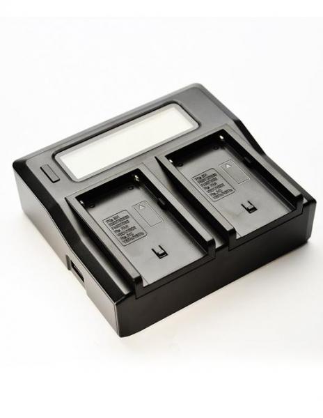Pachet Digital Power Incarcator dual LCD pentru acumulator Nikon EN-EL15 + Digital Power EN-EL15 1900 mAh acumulator pentru Nikon D7000 D7100 D610 D500 D7200 V1 D750 D810 D800E + Digital Power EN-EL15
