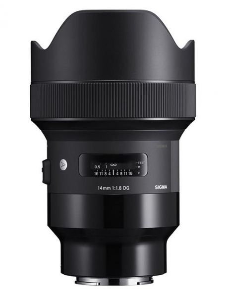 Pachet Sigma 14mm f/1.8 DG HSM Art Sony E + Manfrotto Minibee 120PL rucsac foto