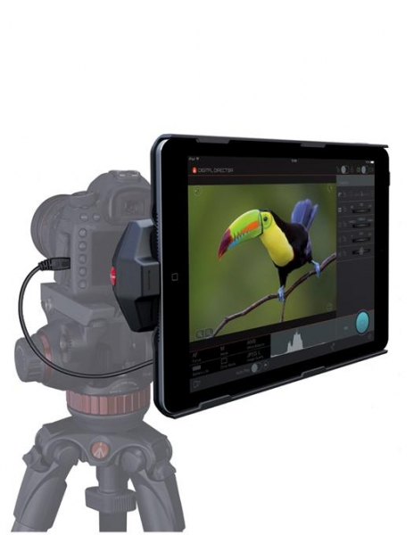 Pachet Manfrotto Digital Director pentru iPad Air 2 + Manfrotto 244MICRO brat articulat + Manfrotto menghina Super Clamp 035FTC