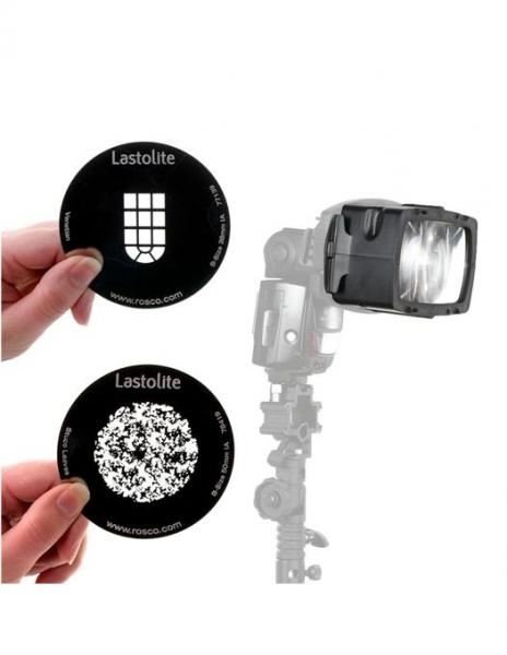 Pachet Lastolite Strobo Gobo Magnetic + Lastolite Set Gobo Natura cu prindere magnetica + Lastolite Set filtre gel