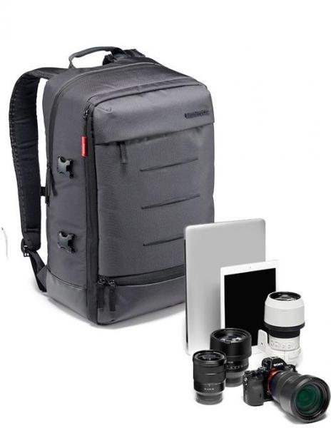 Pachet Sigma 20mm f1.4 DG HSM ART pentru Canon + Manfrotto Manhattan Mover 30 Rucsac foto