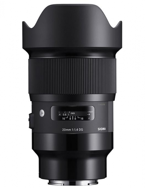 Pachet Sigma 20mm f1.4 DG HSM ART SONY E + Manfrotto Kit Trepied 290 XTRA, cu cap 3Way si husa